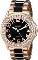 XOXO Women's XO5473 Rose Gold with Epoxy Analog Bracelet Watch