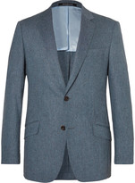 Richard James Seishin Slim-Fit Mélange Stretch-Wool Suit Jacket
