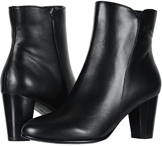 David Tate Alexa (Black Calf) Women's Dress Pull-on Boots