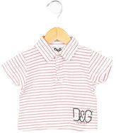 Dolce & Gabbana Boys' Striped Rib Knit Top