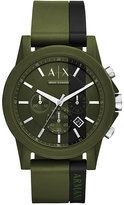 Armani Exchange Connected Men's Green Hybrid Smartwatch