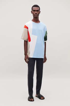Cos Relaxed Knitted T-Shirt
