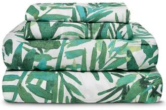 Melange Home 300Tc Lush Blush Sheet Set