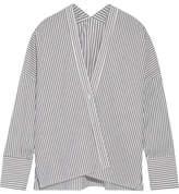Nili Lotan Sabine Striped Cotton-poplin Shirt
