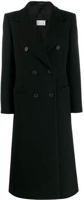 Maison Margiela double-breasted long coat