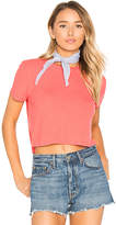 Privacy Please Linton Tee in Coral. - size M (also in S,XL,XS)