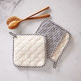 west elm Stripe Pot Holder
