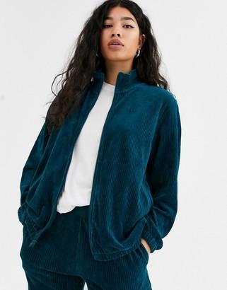 Nike dark blue cord track jacket