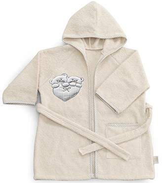 Italbaby Baby Bath Robe for Babies 6-18 Months Lovely Ivory - 550 g
