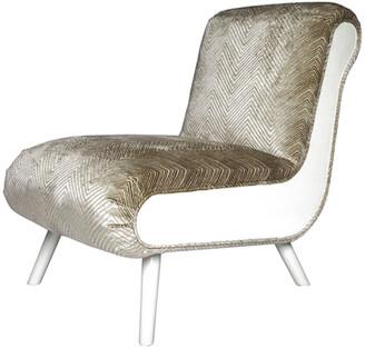 Badgley Mischka Home Casablanca Slipper Chair