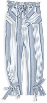 Habitual Girl's Striped Paperbag Pants