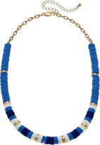 Canvas Jewelry Emberly Colorblock Beaded Necklace