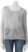 Apt. 9 Women's Shine Open-Work Sweater