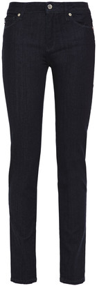 Love Moschino Printed Mid-rise Skinny Jeans
