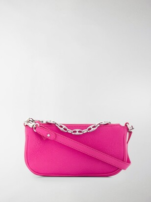 BY FAR Chain-Link Strap Shoulder Bag