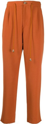 Nanushka Cropped Track Trousers