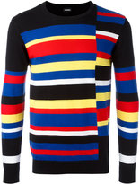 Diesel striped jumper - men - Cotton - M