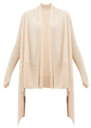 BEIGE Skin - Mineta Waterfall Hem Wool Blend Cardigan - Womens