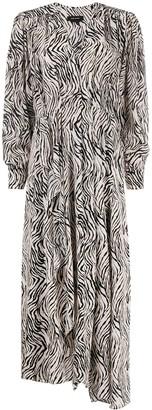 Isabel Marant Zebra-Print Dress