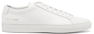 Common Projects Original Achilles Low Top Leather Trainers - Mens - White