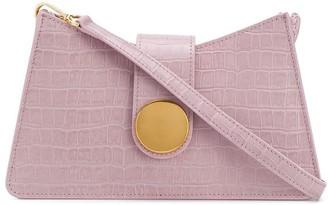 Elleme Baguette embossed shoulder bag