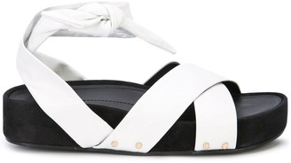 Stella Luna wrapped sandals