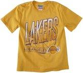 Junk Food Clothing Los Angeles Lakers Tee (Toddler/Kid) - Mustard-S (6/7)