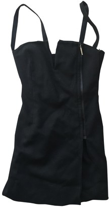 CNC Costume National Black Wool Dress for Women