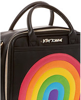 Betsey Johnson Chow Bella Rainbow Lunch Tote