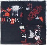 Alexander McQueen ransom scarf - men - Silk/Wool - One Size