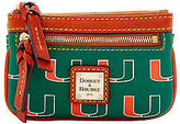 Dooney & Bourke NCAA Miami Small Coin Case