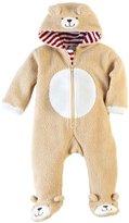 Mud Pie Unisex-Baby Newborn Bear Zip-Up Hooded One Piece