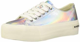 SeaVees Women's Monterey Platform Sun Valley Sneaker Mirror Iris 9 M US