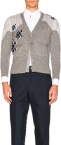 Thom Browne Sea Animal Cashmere Intarsia Cardigan