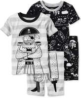 Carter's 4-Pc. Pirates Pajama Set, Toddler Boys (2T-5T)