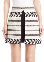 Alice + Olivia Daysi A-Line Mini Skirt