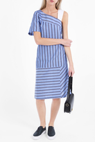 Paul & Joe Natacha Stripe One Sleeve Dress