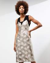 Jigsaw A - Lurex Jacquard Dress