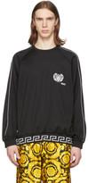 Versace Underwear Black Medusa Sweatshirt