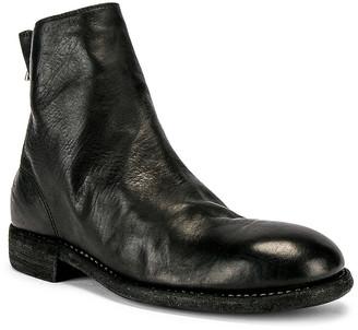 Guidi Back Zip Boot in Black | FWRD