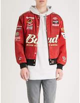 NOT APPLICABLE Vintage Dale Earnhardt Jr suede jacket