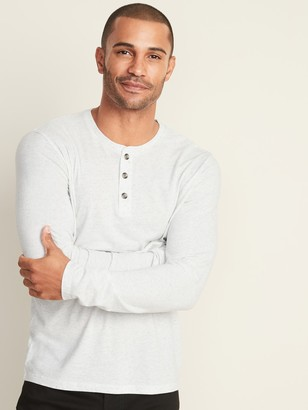 Old Navy Soft-Washed Long-Sleeve Henley for Men