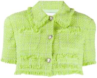 Brognano cropped twill jacket