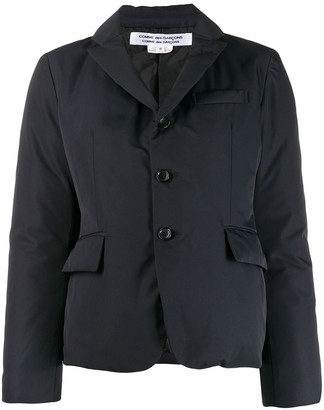 Comme des Garcons single-breasted padded blazer