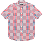 Penfield Penrose Check Short Sleeve Shirt, Red