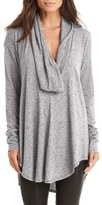 Michael Stars Women's Drape Neck Jersey Tunic
