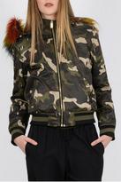 Molly Bracken Reversible Bomber Jacket