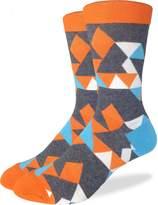 Good Luck Sock Men's Kaleidoscope Crew Socks
