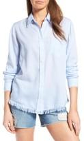 DL1961 Women's Mercer & Spring Frayed Shirt