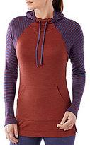 Smartwool NTS Mid 250 Striped Wool Raglan Hoodie